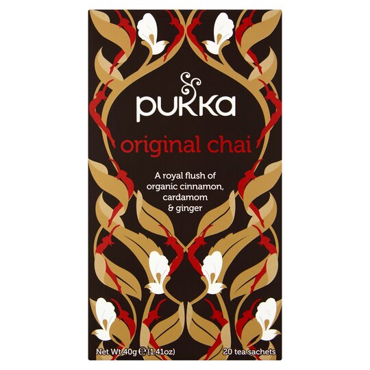 image 1 of Pukka Herbs Organic Fair Trade Original Chai 40G