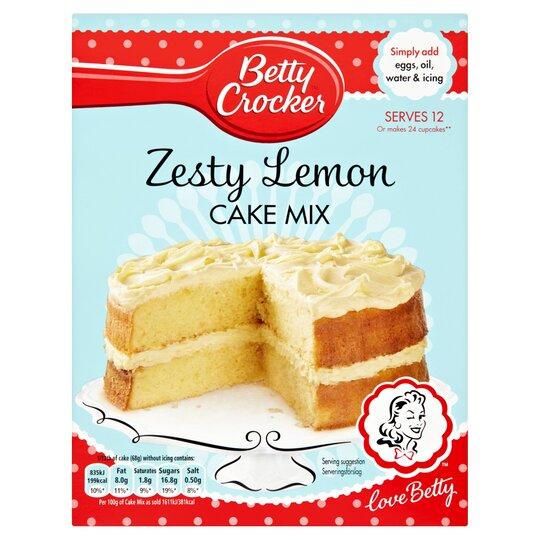 image 1 of Betty Crocker Lemon Cake Mix 425G