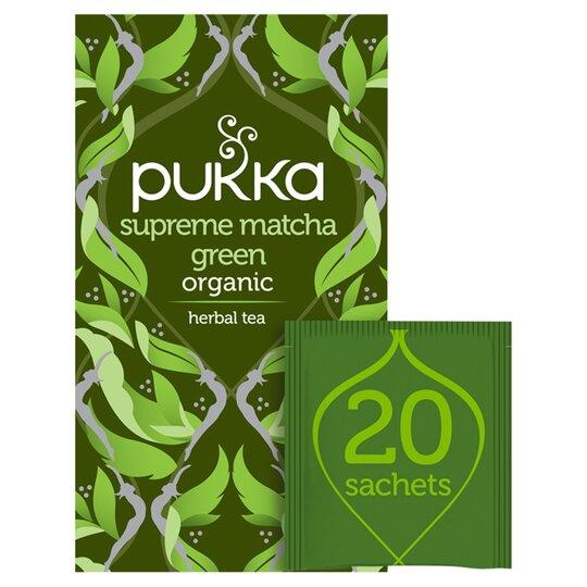 Pukka Supreme Matcha Green 20 Tea Bags 30G
