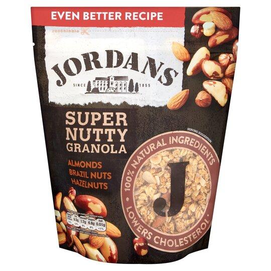image 1 of Jordans Super Granola Nutty 550G