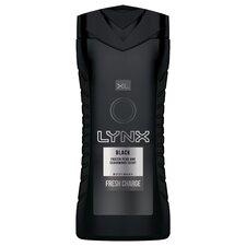 Lynx Black Shower Gel 400Ml
