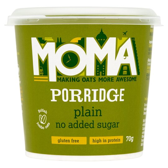 Moma Porridge No Added Sugar 70G