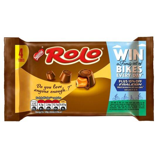 Nestle Rolo Multipack 4X41.6G