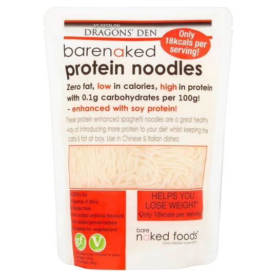 Barenaked Protein Noodles 380G