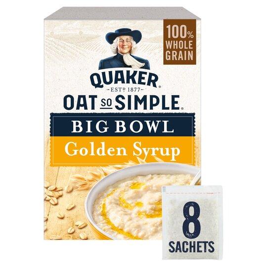 Quaker Oats Big Bowl Golden Syrup 397G