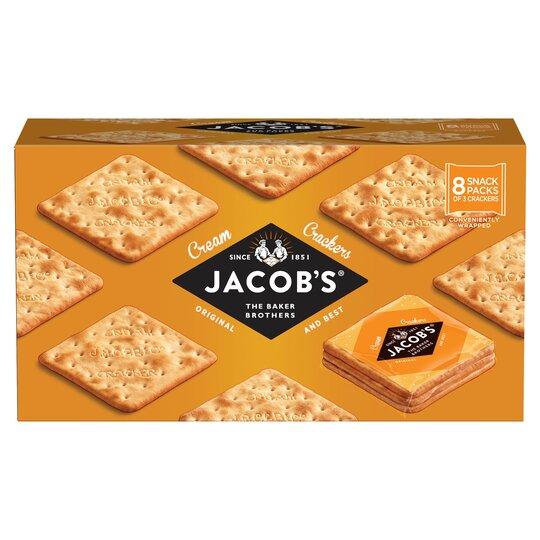 Jacobs Cream Cracker Snackpk 8Pk 192G
