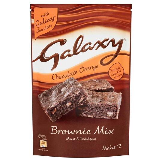 Galaxy Chocolate Orange Brownie Mix 360G - Tesco Groceries