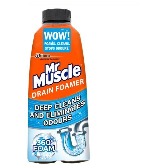 Mr Muscle Drain Foamer 500ml Tesco Groceries