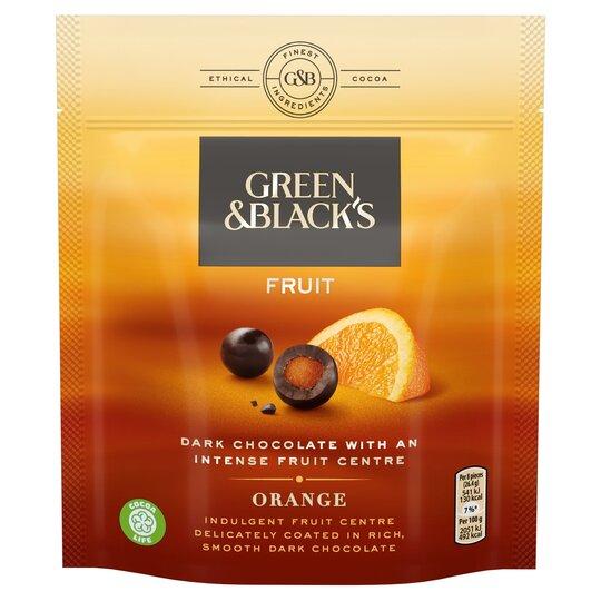 Green & Black's Velvet Fruit Orange Chocolate 120G