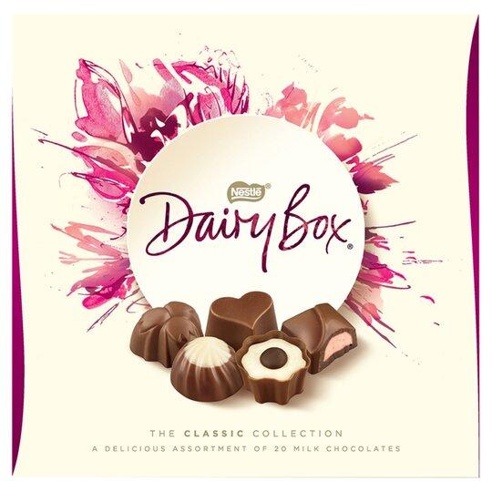 Nestle Dairy Box Boxed Chocolates 180G