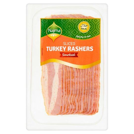 Najma Sliced Smoked Turkey Rashers 150G