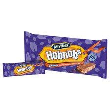 image 2 of Mcvities Hobnobs Chocolate Slices 5 Pack 128.6G