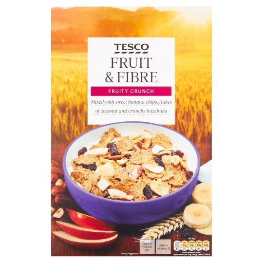 Tesco Fruit & Fibre Cereal 750G