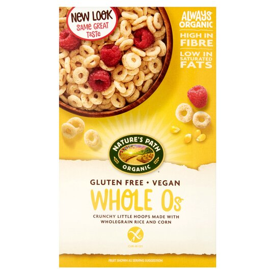 Gluten Free Cereal >> Natures Path Gluten Free O S 325g Tesco Groceries