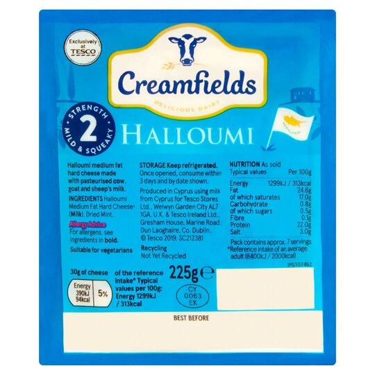 Creamfields Halloumi 225G