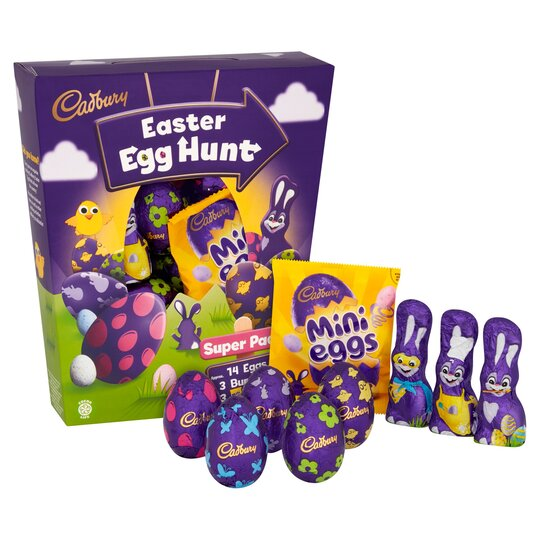 Cadbury Egg Hunt Pack 342.7G