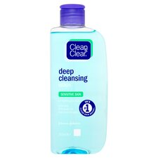 image 1 of Johnson & Johnson Clean & Clear Cleansing Lotion Sensitive 200ml