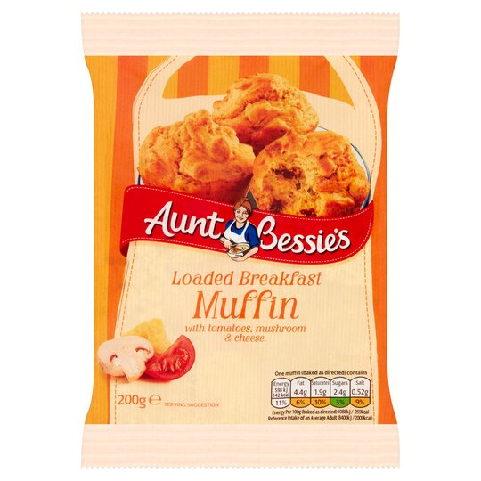 Aunt Bessie's Loaded Savoury Muffin Mix 200G