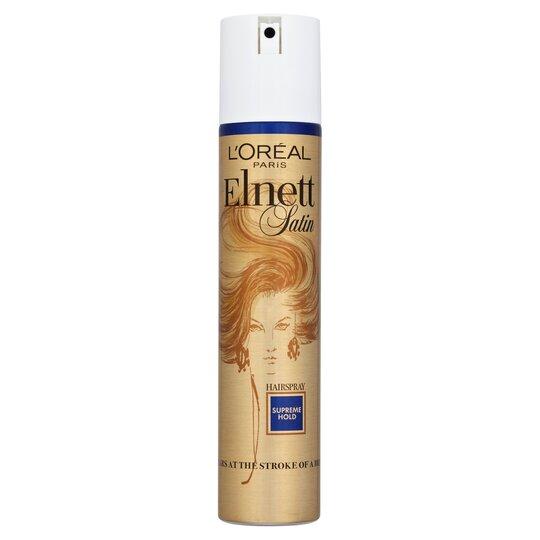 image 1 of L'oreal Paris Elnett Supreme Hold Hair Spray 200Ml