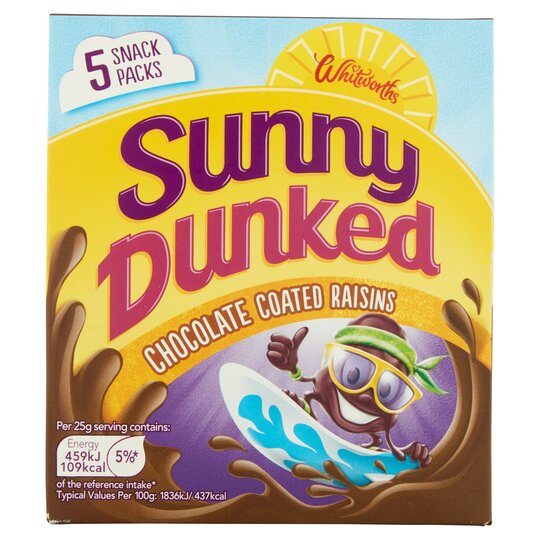 Sunny Raisin Chocolate Multipack 5X25g