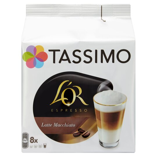 image 1 of Tassimo L' Or. Latte Macchiato 8 Coffee Pods