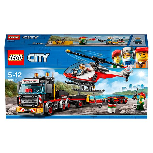 image 1 of LEGO City Heavy Cargo Transport 60183