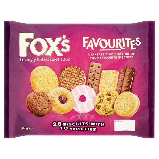 image 1 of Fox's Favourites Assortment Biscuits 365G