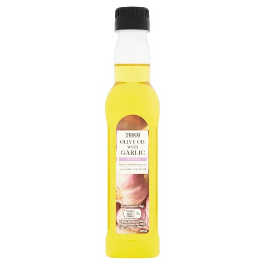 Tesco Garlic Infused Oil 250Ml