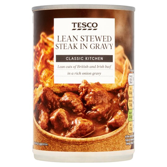 Tesco Lean Stewed Steak 400G - Tesco Groceries