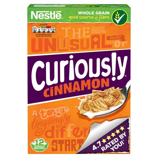 Nestle Curiously Cinnamon Cereal 375G