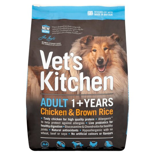 image 1 of Vets Kitchen Adult Dog Chicken & Rice 3 Kilograms