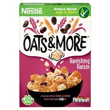 Nestle Oats And More Raisin Cereal 425G