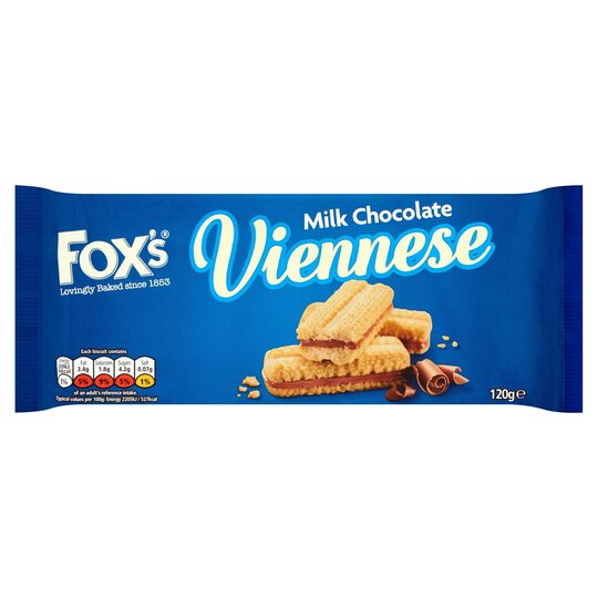 image 1 of Foxs Chocolate Chocolate Viennese 120G