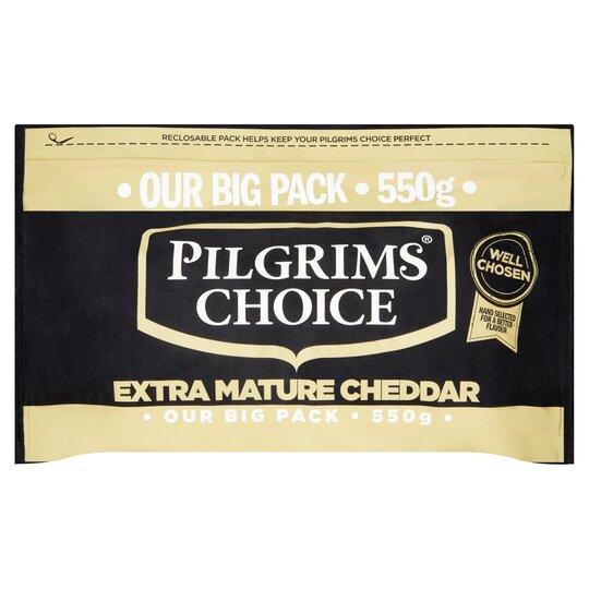 Pilgrims Choice Extra Mature Cheddar 550G