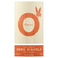 image 2 of Casa Roscoli Organic Nero D'avola Doc 75Cl