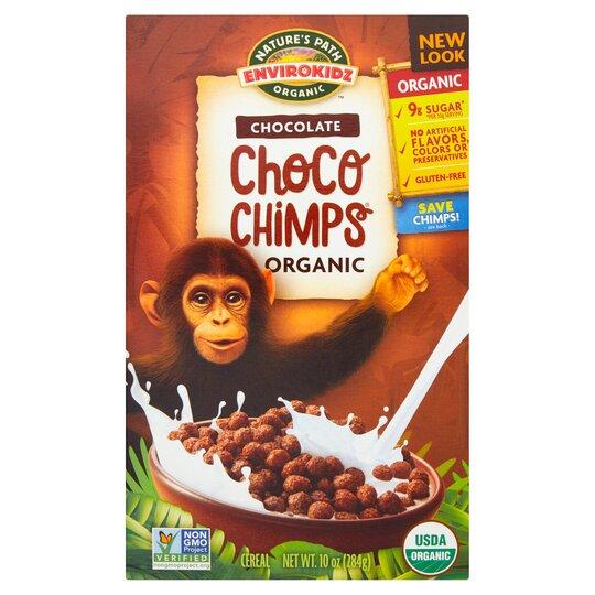 Nature's Path Envirokidz Chocolate Choco Chimps284g