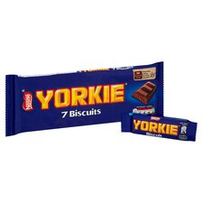 image 2 of Yorkie Milk Chocolate Biscuits 7 Pack 171.5G