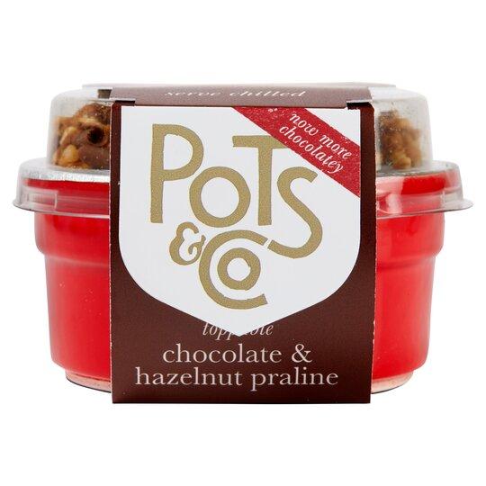 Pots & Co Hazelnut & Chocolate Praline 85G