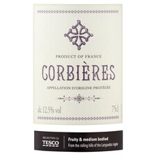 image 2 of Tesco Corbieres Red Wine 75Cl