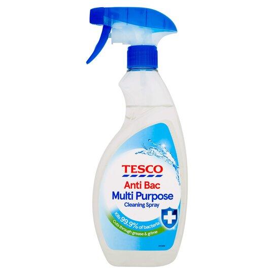Tesco Antibacterial Cleaner Spray 500Ml
