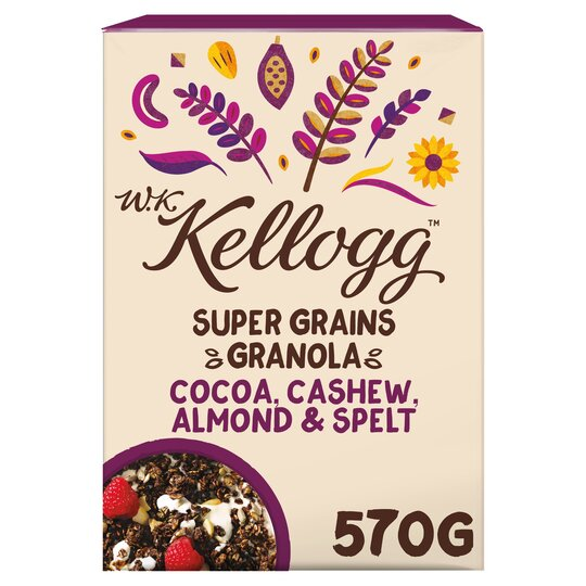 Kellogg Super Cocoa Granola 570G