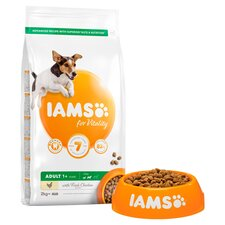 image 2 of Iams Small Medium Adult Dog Food With Chicken 2Kg