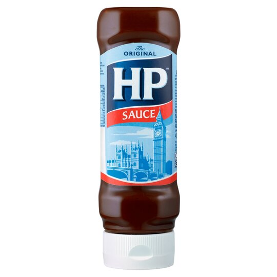 Hp Top Down Brown Sauce 450G