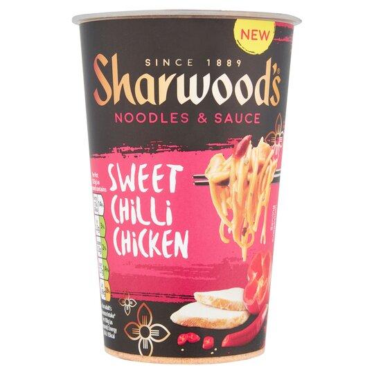 Sharwoods Sweet Chilli Chicken Noodle Pot 75G