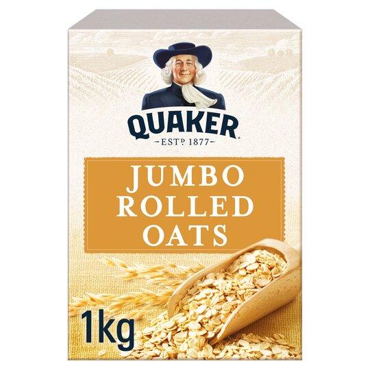 Quaker Jumbo Rolled Porridge Oats 1Kg