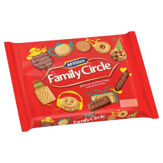 Mcvities Family Circle 360G