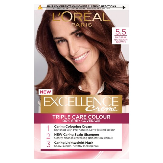 image 1 of L'oreal Paris Excellence 5.5 Mahogany Brown
