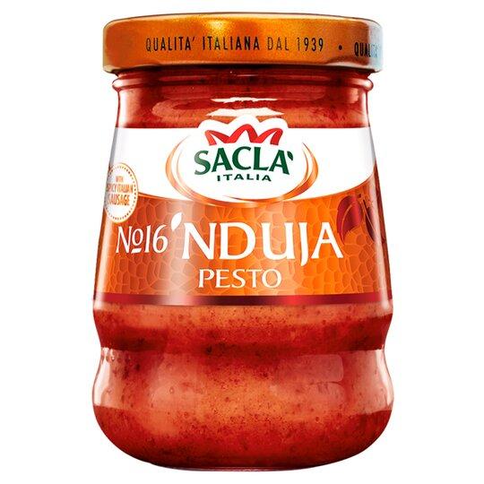 Sacla Nduja Pesto 90G