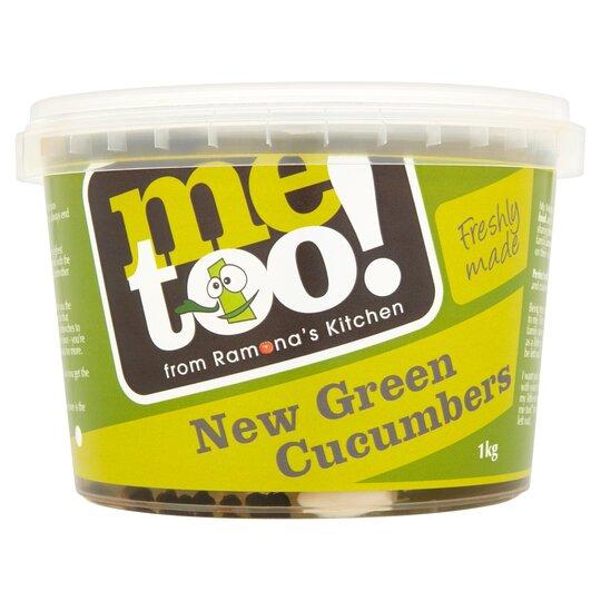 Me Too! New Green Cucumbers 1Kg