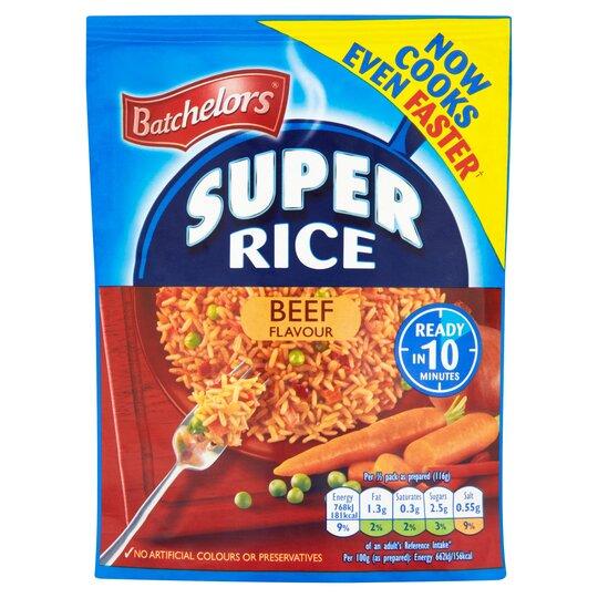Batchelor's Super Rice Beef 100G